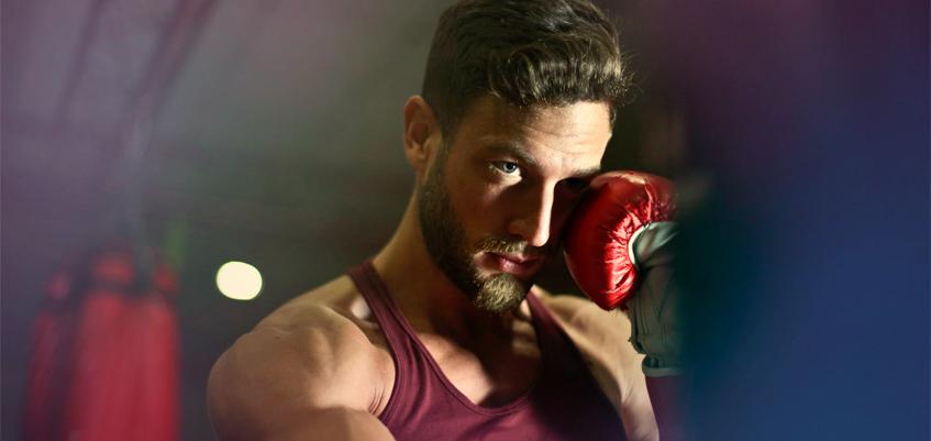 hombre boxeador