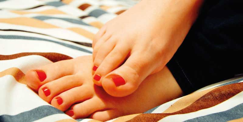 hongo uña pie dedo gordo