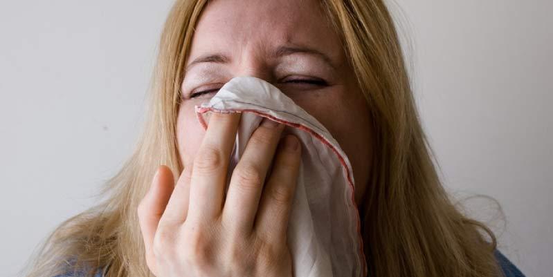 alergia al polvo sintomas