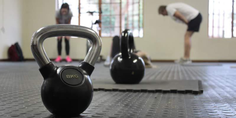 ejercicios de pesas en casa