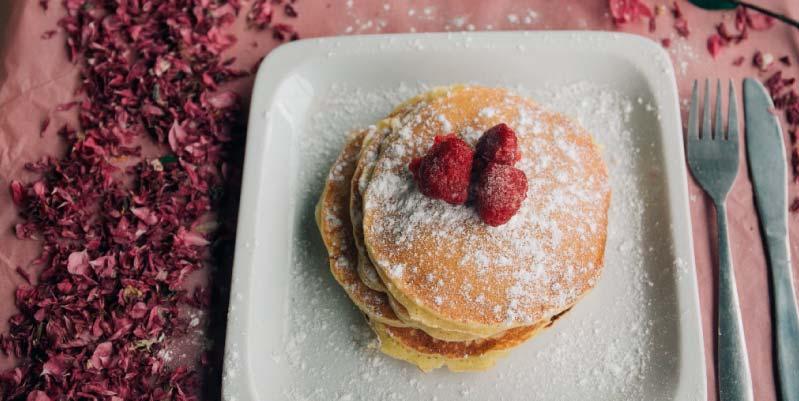 tortitas desayuno sanas
