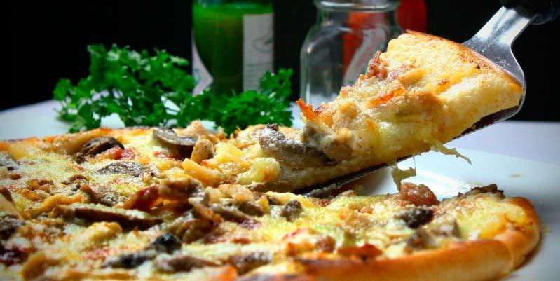 pizzas saludables para cenar