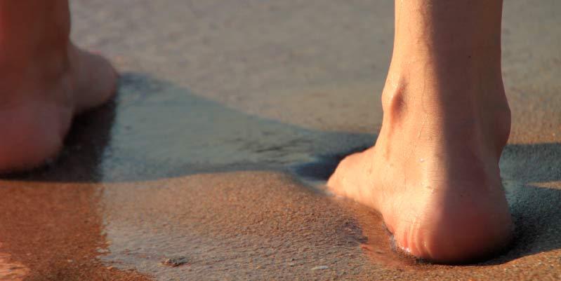 planta de los pies agrietados
