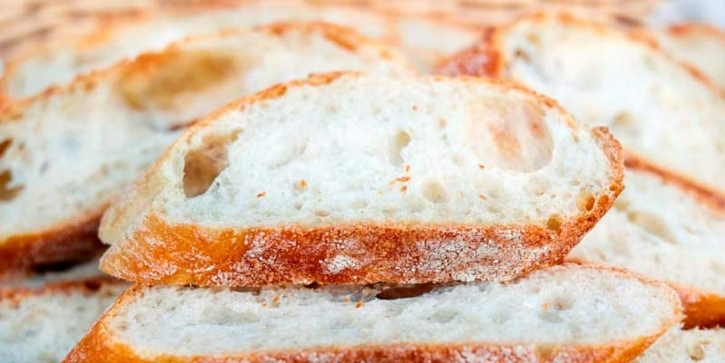 pan de avena en sarten