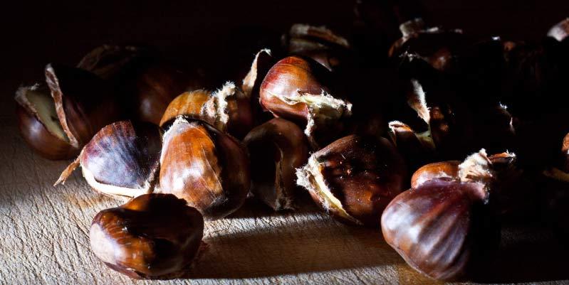 propiedades de las castañas asadas
